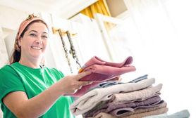 الخدمة المفضلة هذا الاسبوع تنظيف منازل، تقع في اول القائمة.